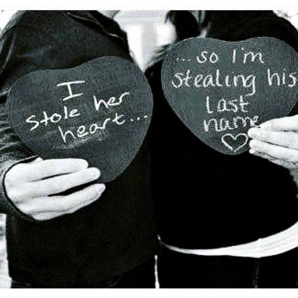 I stole her heart...