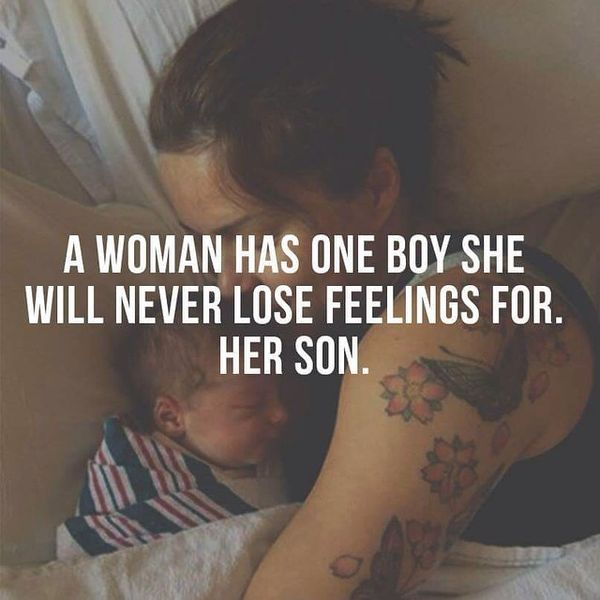 Smooth Emotional Mother and Son Love Quotes