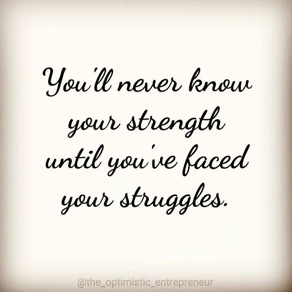 Positive Quotes about Staying Strong Through Hard Times