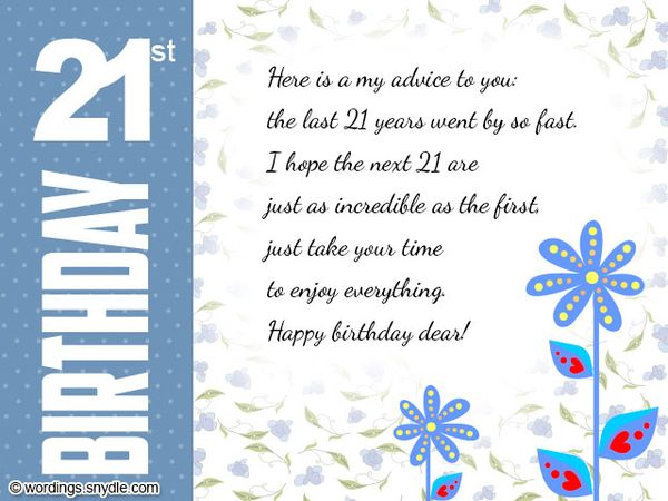 Funny Birthday Cards For 21 Year Olds