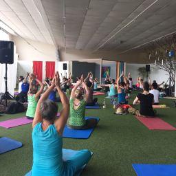 Yoga-Fest im egapark