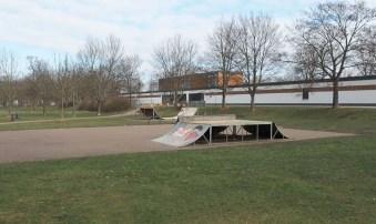 Nordpark heute.