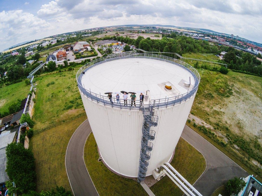 SWE Stadtwerke Erfurt GmbH , Langen Nacht der Wissenschaften , FernwŠrmespeicher