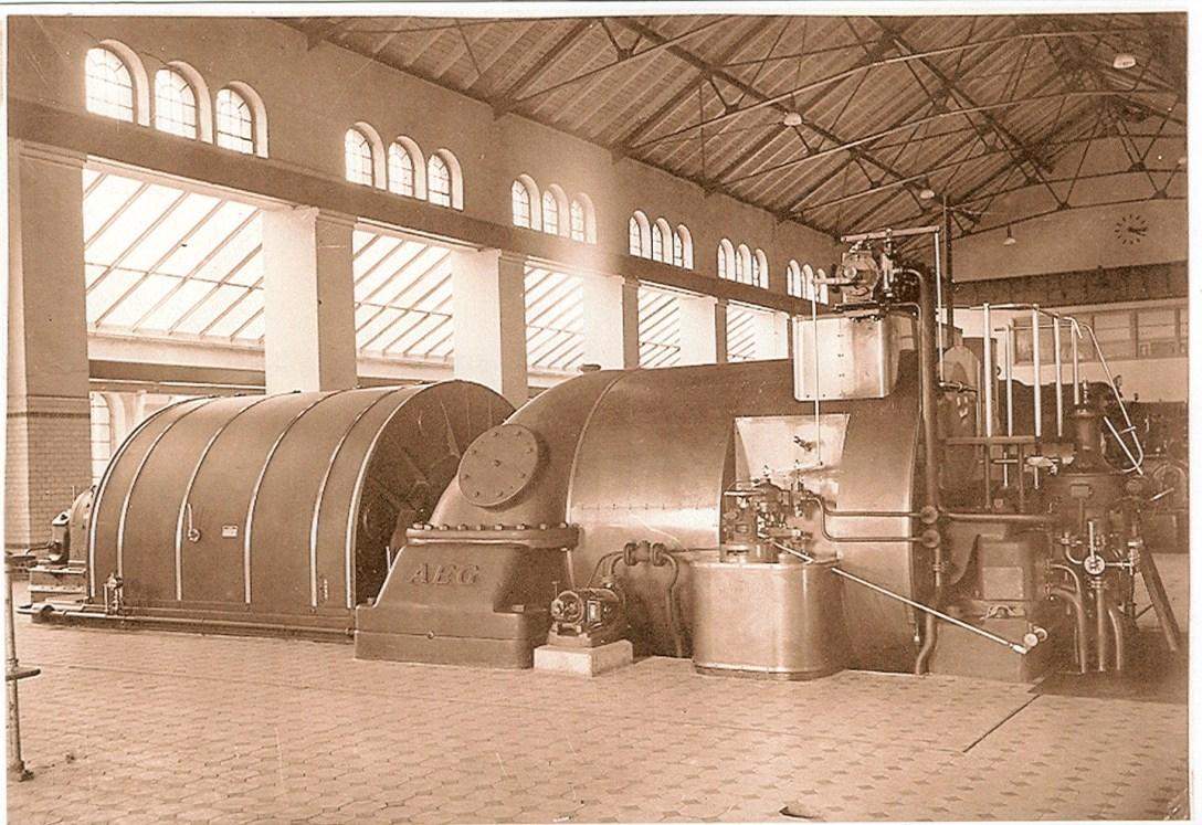 1948 Städt. Elektrizitätswerk