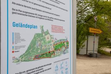 Geländeplan aktuell