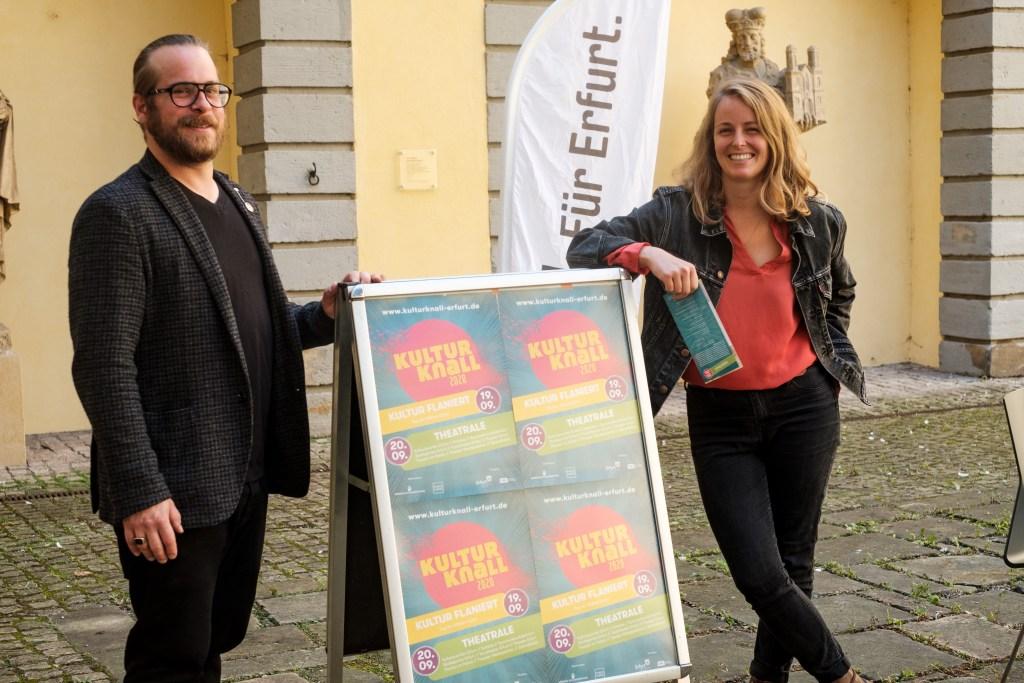 Ständigen Kulturvertretung Stefanie Müller-Durand und Jan-Phillip Janphe