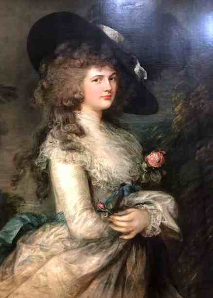 Portrait of Georgiana Cavendish