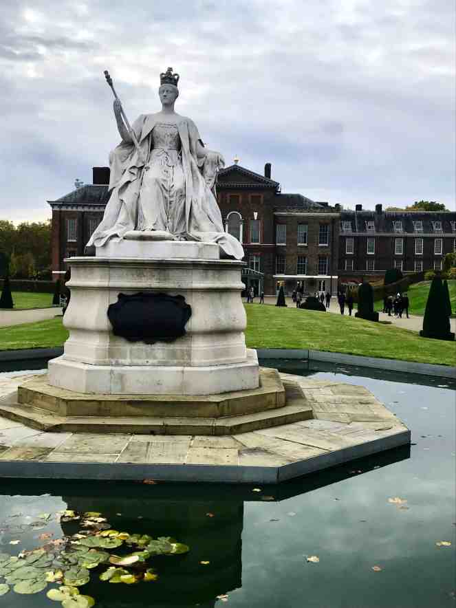Statue of Queen Victoria at Kensington Palace London