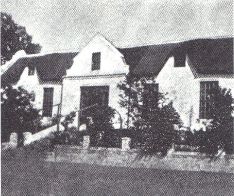 Eerste pastorie (voor 1813)