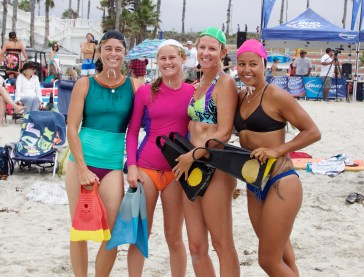 Women's Grand Champion Final with Meredith Rose, 12-17 winner, Calla Allison and Makena Magro.