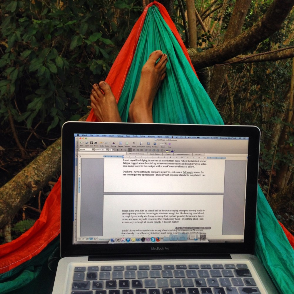 The portable hammock office is sweet too.