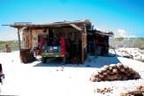 Unlce Taro's copra shack.
