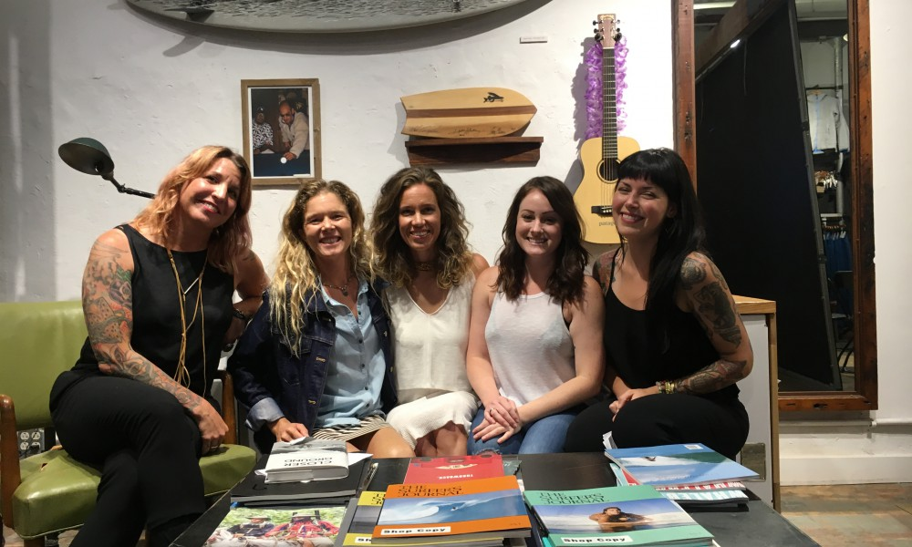 Honored to come together with Patagonia Bowery, NYC's all-star line-up: Shaney Jo, Debi Spindelman, Caitie Rowe, Alexis Krauss