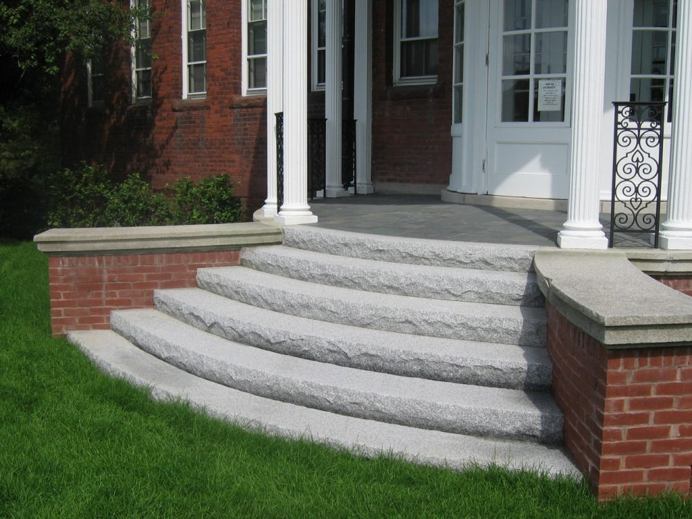 Steps And Treads Swenson American Granite Products | Granite Design For Stairs | Floor | Front Wall | Bedroom | Grenite Pathar | Sunny