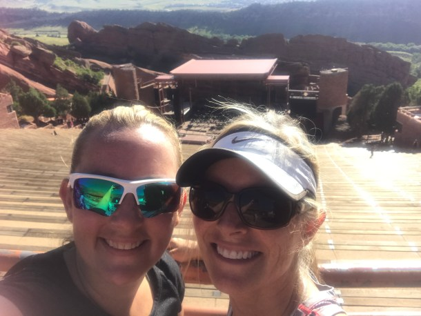 Top of Red Rocks!