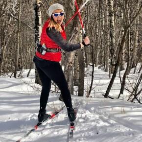 Klutz on Skinny Skis