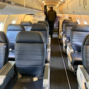 A Regional Plane With Premium Experience For Everyone: United Airlines New Bombardier CRJ-550