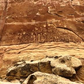 Hiking Petroglyph Point Loop at Mesa Verde National Park
