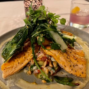 Where to Eat in Steamboat Springs – Dinner at Aurum and Lunch at Creekside Cafe