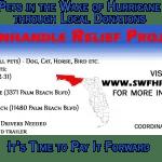 Panhandle Relief Project – update