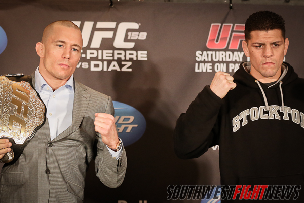 Main Event GSP vs. Nick Diaz