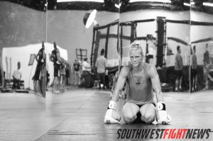 Holly Holm Trains for Legacy