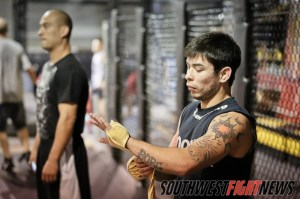 One of the state's very best fighters will be in action this weekend. Ray Borg travels to Oklahoma to fight for a promotional title.