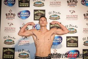 No stranger to the Albuquerque area, Bushido MMA's Gamboa will look to spoil another hometown fighters night this Friday inside the Route 66 Casino.