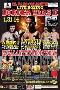 Border Wars II Fight Poster