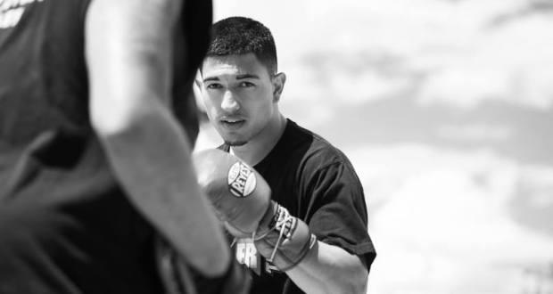 Brian Mendoza boxing New Mexico
