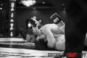 """While also be one-half of the """"Fight of the Night"""" Aaron Perls also sunk in the """"Submission of the Night"""" in his comeback performance against Dorian Dixon."""