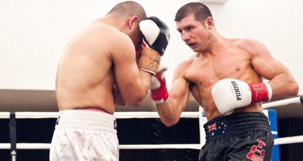 Boxer Daniel Dawson of Australia