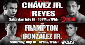 Julio Cesar Chavez Jr Carl Frampton
