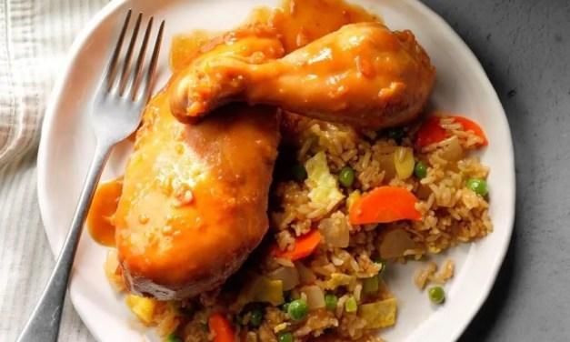 Sweet Orange Chicken | Slow Cooker