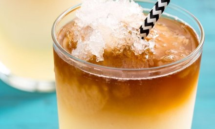Frozen Dark & Stormy | Summer Drinks
