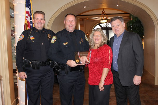 2014 SWFPCA Outstanding Chief Executive Law Enforcement Officer of the Year, Chief Jack Cavanaugh, Port Authority P.D.