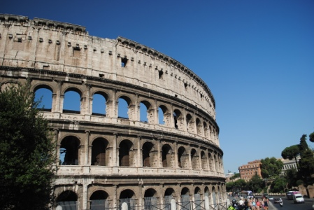 A Day in Rome, and now, Two sea days... (1/6)