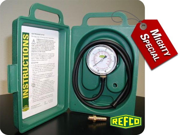 Mighty Special Deal - Refco Gas Pressure Test Kit