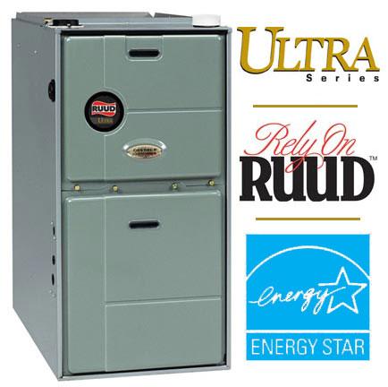 Ruud RGFG Ultra Series 90 Plus Gas Furnace