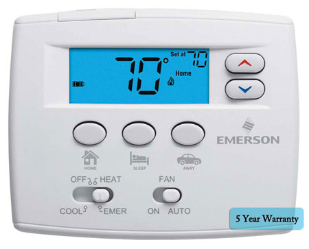 White Rodgers Blue East Set Thermostats