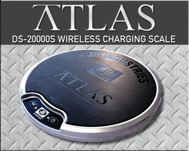 JB Atlas DS-20000S Wireless Charging Scale
