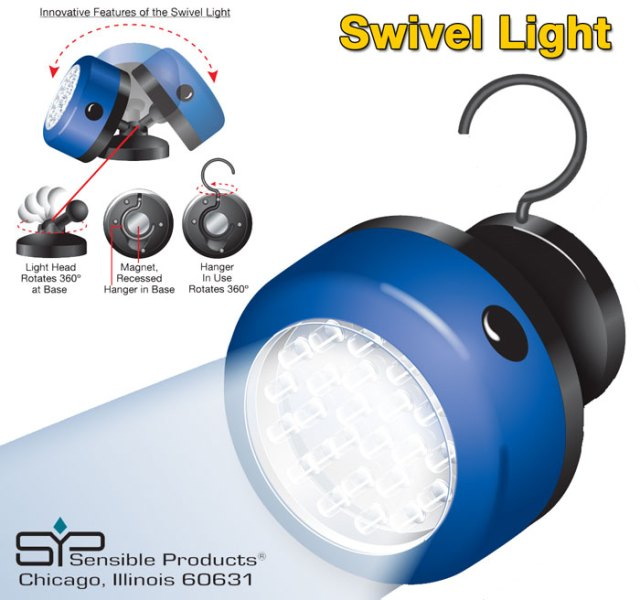 Sensible Products - Swivel Light