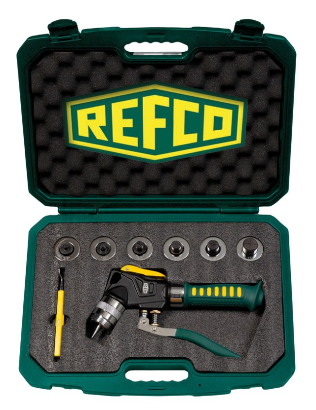 Refco HY-EX-6 Hydraulic Expander Tool Kit