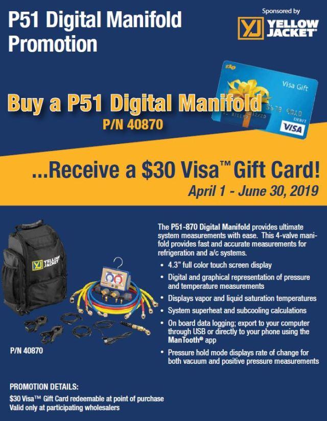 P51 Digital Manifold Promotion