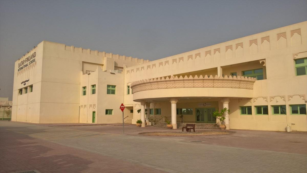 Fińska szkoła na arabskiej pustyni