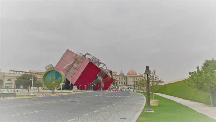 Doha z dzieckiem, Doha, stopover, przesiadka, Katar, Katara, architektura