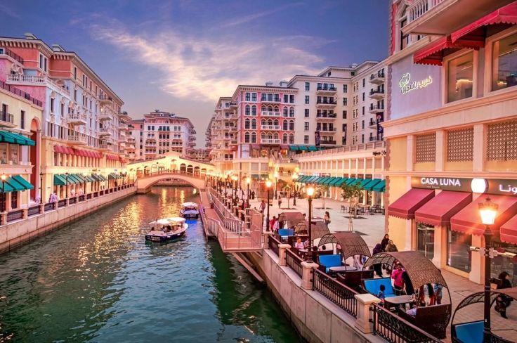 Doha co zobaczyć, Doha_z_dzieckiem, Doha, stopover, przesiadka, Katar, tranzyt, The_Pearl, Perła, sztuczna_wyspa, Wenecja