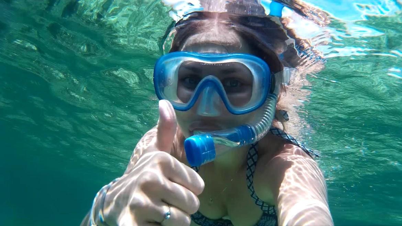 snorkelling1 - Isla Mucura - raj w Kolumbii