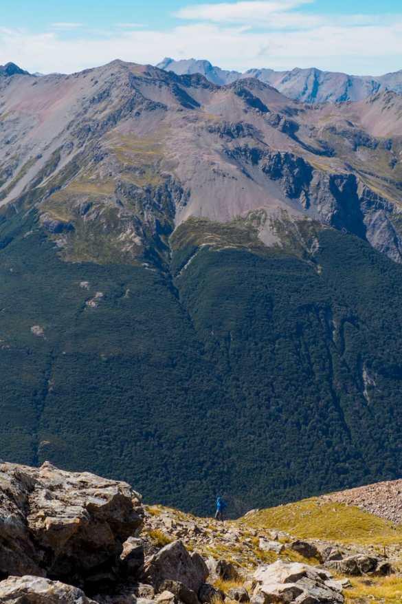 Avalanche Peak - 3 tygodnie w Nowej Zelandii - plan trasy