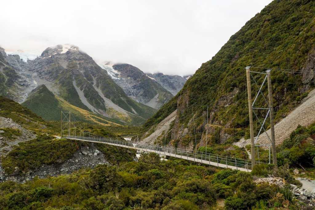 Hooker Valley Track - 3 tygodnie w Nowej Zelandii - plan trasy
